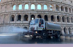 Sanificazione tutta Roma